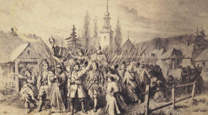 Пачатак паўстаньня Каліноўскага – 01.02.1863