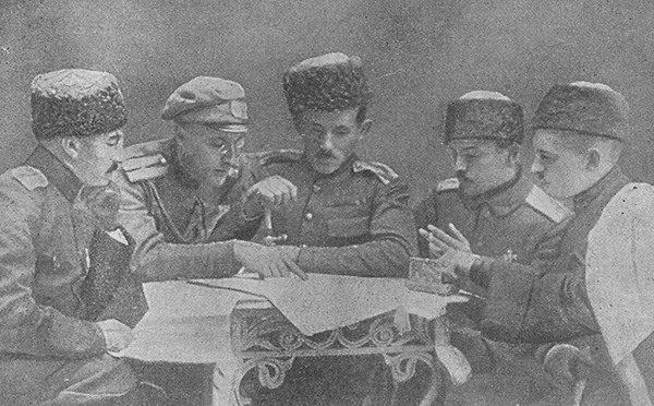 Нарада кіраўнікоў беларускіх партызанаў – 01.02.1921