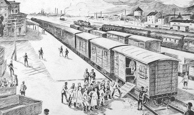 Савецкія дэпартацыі зь Беларусі ў чэрвені 1941 г.