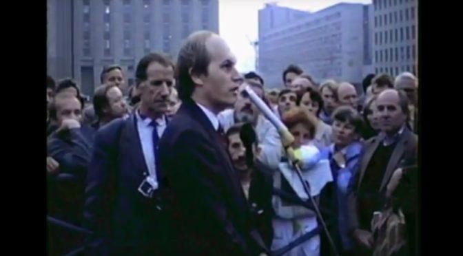 Хроніка аднаўленьня незалежнасьці – фільм Сяргея Чырыка (2003)