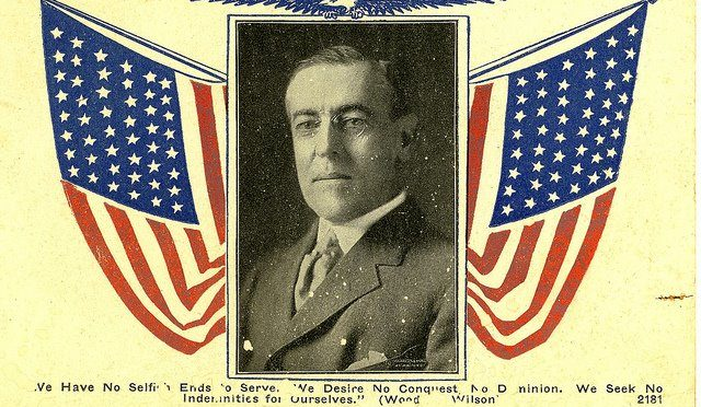 Зварот Рады БНР да прэзыдэнта ЗША – 22.10.1918