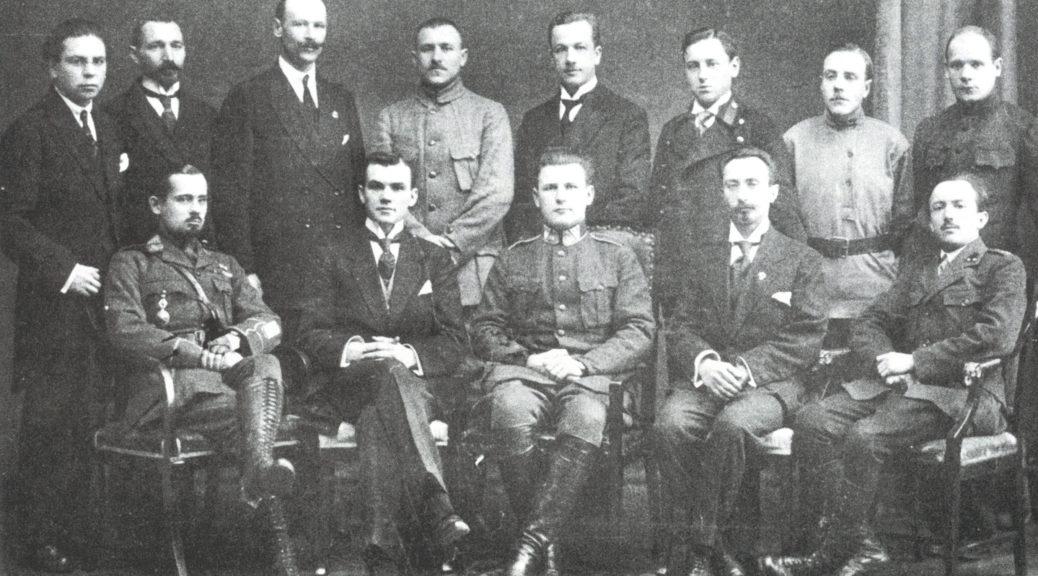Рада Беларускае калёніі ў Латыіі, Рыга, 1920 г.