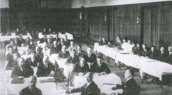 Усебеларуская палітычная канфэрэнцыя ў Празе, 1921 г.