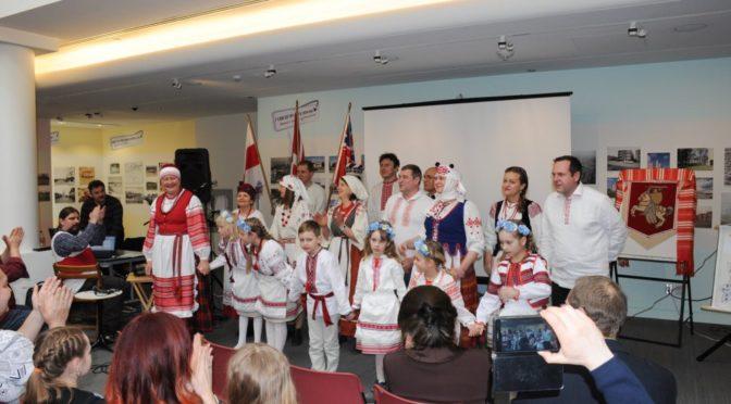 Выступ Старшыні Рады БНР на сьвяткаваньні юбілею Згуртаваньня Беларусаў Канады