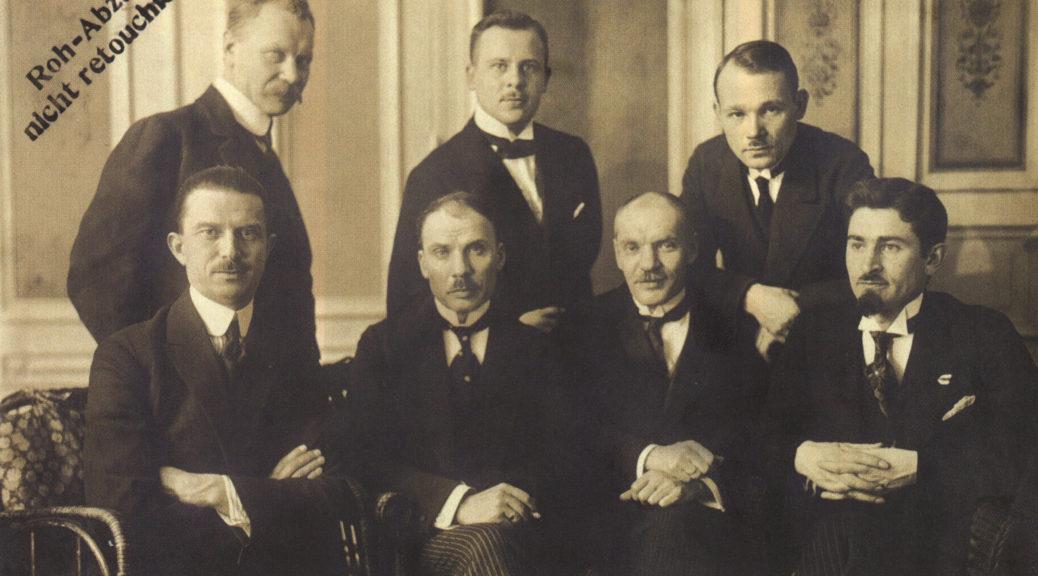 Дэлегацыя БНР у Бэрліне, 1919 г.